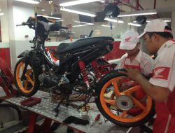 Honda dan FDR Dukung Balap Motor Porprov ke-13