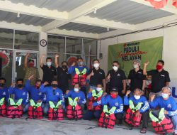Suzuki Dan Tim Tagana Gelar Sosialisasi Keselamatan Nelayan
